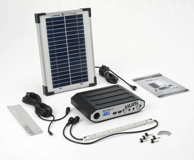 Solar lighting for stables and sheds - so easy to install