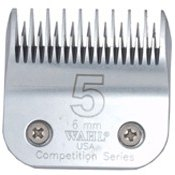Wahl Competition No 5 Clipper Blade - Great for Dog Grooming
