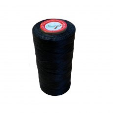 Smart Grooming Flat Wax Black Plaiting Thread Large