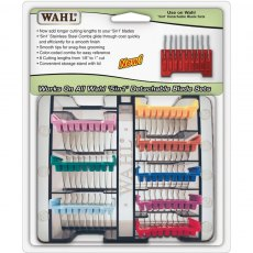Wahl 5-in-1 Stainless Steel Attachment Guide Comb Kit