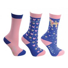 HY Little Show Pony Bamboo Socks (3 Pack)