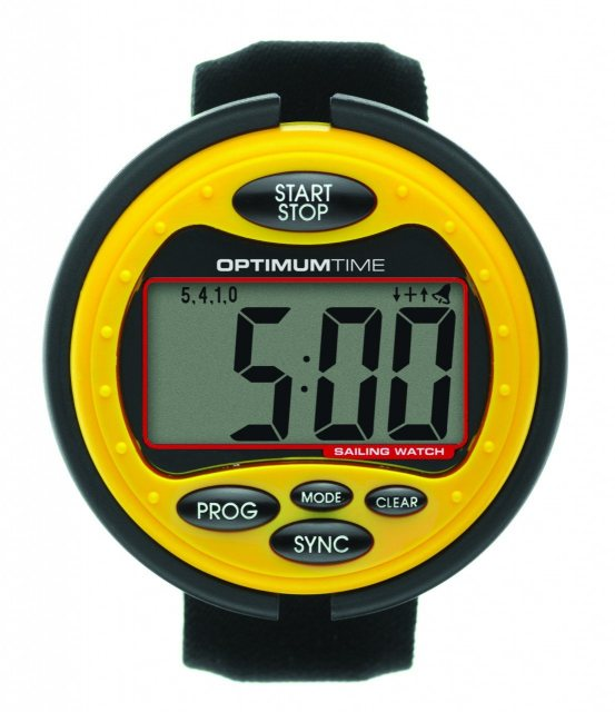 Optimum Time Event stopwatch