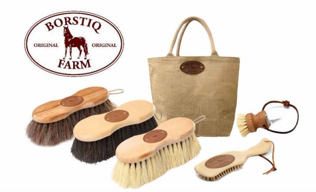 Borstiq Borstiq Natural Brush Grooming Kit - 5 Pieces