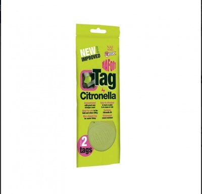 NAF NAF OFF Citronella Tag-Twin Pack