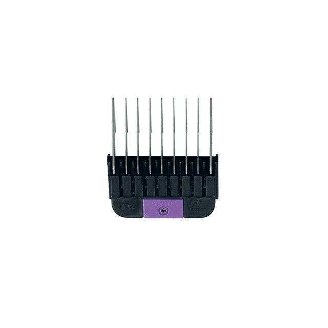 "Wahl Wahl #2 Individual Snap-On Comb – 1/4"", Purple"