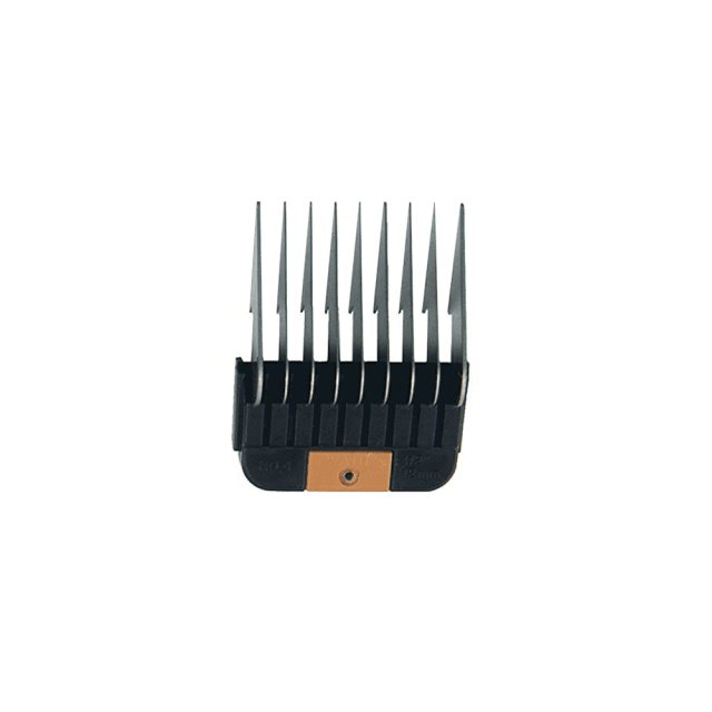 "Wahl Wahl #4 Individual Snap-On Comb – 1/2"", Peach"